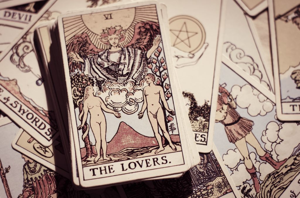 divination by Tarot cards
